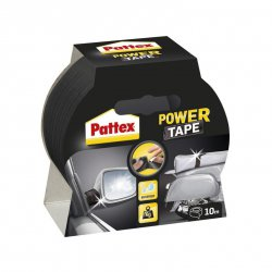 Pattex - Taśma Power Tape, czarna, 48 mm x 10 m
