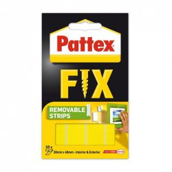Pattex - Paski montażowe Super Fix Removable, 40x20 mm